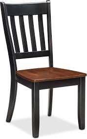 slat back chairs. Nantucket Slat-Back Chair - Black And Cherry Slat Back Chairs A