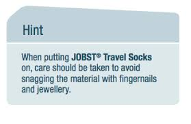 Jobst Travel Socks Size Chart Jobst Travel Socks
