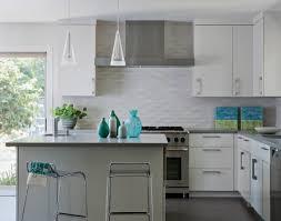 Kitchen Contemporary Subway Tile Kitchen Backsplash Ideas With