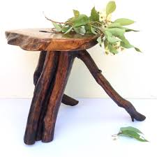 rustic furniture perth. Side Table Reclaimed Wood Timber Furniture Wooden Live Edge Coffee Small Rustic End OOAK Perth Australia C