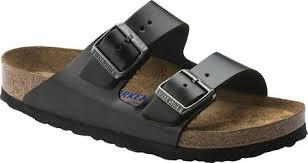 Birkenstock Unisex Size Chart Arizona Amalfi Leather Sandal With Soft Footbed