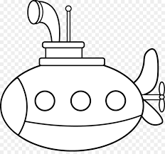 coloring book submarine drawing clip art kids drawing