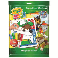 Small Picture Amazoncom Crayola Paw Patrol Color Wonder Mess Free Coloring