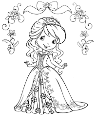 Drawn strawberry coloring book - Pencil and in color drawn ...
