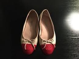 chanel uk. image is loading chanel-ballerina-flat-shoes-uk-size-3 chanel uk