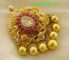 latest gold pendant