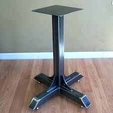 diy pedestal table pedestal table base