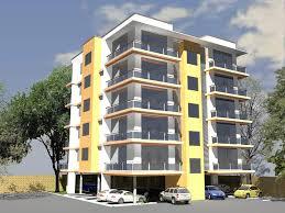 Unique Modern Apartment Building Plans Modern Apartment Building - Modern apartment building elevations