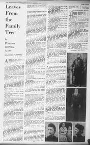 Shelton Family, Leaves From the Family Tree, 1937, pg. 11 - Newspapers.com
