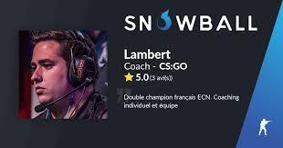 Coach Lambert CS:GO - Snowball.gg