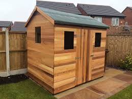 Small Picture westernred cedar wood garden sheds and summerhouses designer
