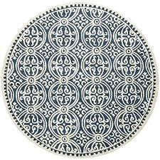 6 foot round rug. 10 Foot Round Rug 6 Navy Blue Amazon Com With Plan .