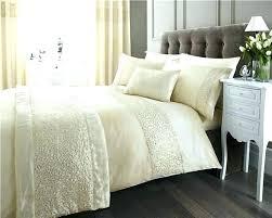sparkle bedding set sequin bedding sets cream and gold bedding new double duvet set cream gold