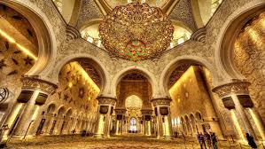 sheikh zayed grand mosque interior seven imported chandeliers from the company faustig in munich germany which contain millions of swarovski crystals