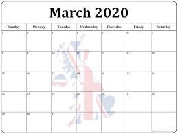 Calendar 2020 Printable Uk Uk 2020 Printable Holiday