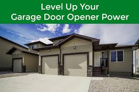 give your garage door more power with this trick