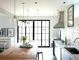 single pendant lights for kitchen clear glass island catchy lovely unique light