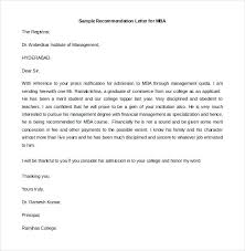Sample College Reference Letters Examples Of References Letters Example Recommendation Letters