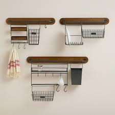 Modular Kitchen Wall Storage Collection from Cost Plus World Market's New  Woodland Retreat Collection >>