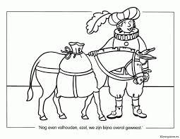 Paard Van Sinterklaas Kleurplaten Kleurplateneu Beste Kleurplaat