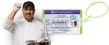 efoodhandlers az food handlers card for maricopa county arizona your official source for approved ansi accredited food handlers training and