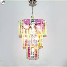 colorful chandeliers multi colored chandeliers color crystal chandelier gypsy for amazing house