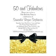 50th Birthday Invitations Templates Invitation 50th Birthday Party Bahiacruiser