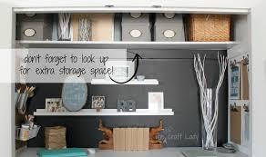 home office closet ideas. Unique Office Great Home Office Closet In A The Crazy Craft Lady  Ideas