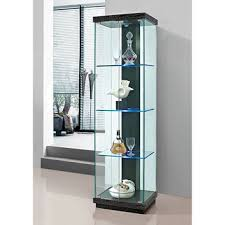 glass cabinet lighting. Incredible 6 Curio Cabinet With Light Glass Lighting