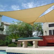 full image for garden sail awning shade sail triangle garage top dreams shade sail triangle garden