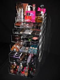 clear makeup organizer spinning makeup organizer