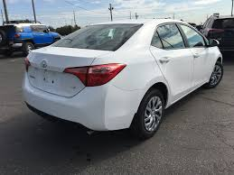 New 2018 Toyota Corolla LE Standard Package BURLEC AM 4 Door Car ...