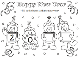 Collection by rachel | parenting + lifestyle tips. Colouring Activity For Kids This New Year 2019 New Year Coloring Pages New Year S Eve Colors New Year S Eve Crafts