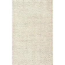 luxury white jute rug and chevron jute off white 3 ft x 5 ft area rug