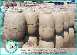 cement type large garden pots pottery
