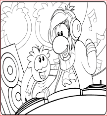 Small Picture Free Printable Puffle Coloring Pages For Kids