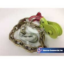 chevron commercial inc 2 ton snatch block w chain