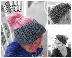 Crochet Winter Headband Pattern Free