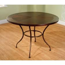 round metal dining table com within remodel 12