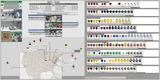 Nfl 1948 Map Season Billsportsmaps Com