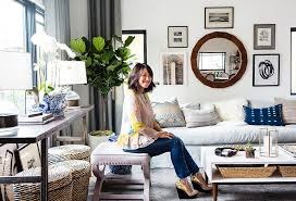 one kings lane living room with honestly home tour inside erica chan coffman s pad