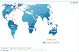 custom network maps  network mapping tool  business views  map