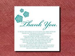 Wedding Thank You Cards Wording Www Aiboulder Com