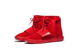 adidas shoes high tops for boys 2017. latest 2017 adidas yeezy750 high-tops fashion casual men shoes all red high tops for boys