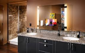 bathroom mirror with lighting. How To Pick A Modern Bathroom Mirror With Lights Lighting E