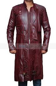 star lord gotg coat star lord leather coat
