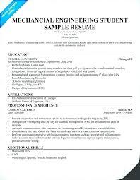 Entry Level Mechanical Engineer Resume Engineering Template Sample