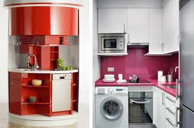 Kitchen For Small Areas Small Unit Living La Pazzia Interiors Shapes And Moods