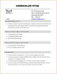 Cv Resume Format Pdf Cv Resume Template Pdf Pdf Resume Templates