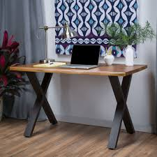 Jedidiah Acacia Wood Computer Desk by Christopher Knight Home - Free  Shipping Today - Overstock.com - 18299185